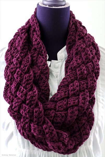 Free and Easy Crochet Scarf Patterns - Do It Make It Love It