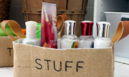 DIY Burlap Bins: Easy Storage Idea