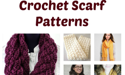 Free and Easy Crochet Scarf Patterns