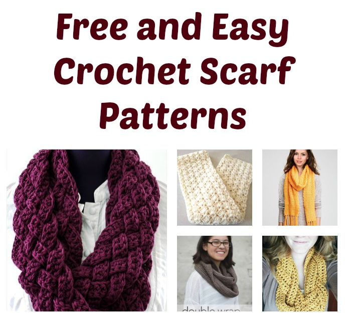 Free And Easy Crochet Scarf Patterns Do It Make It Love It