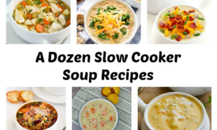 12 Slow Cooker Soup Recipes