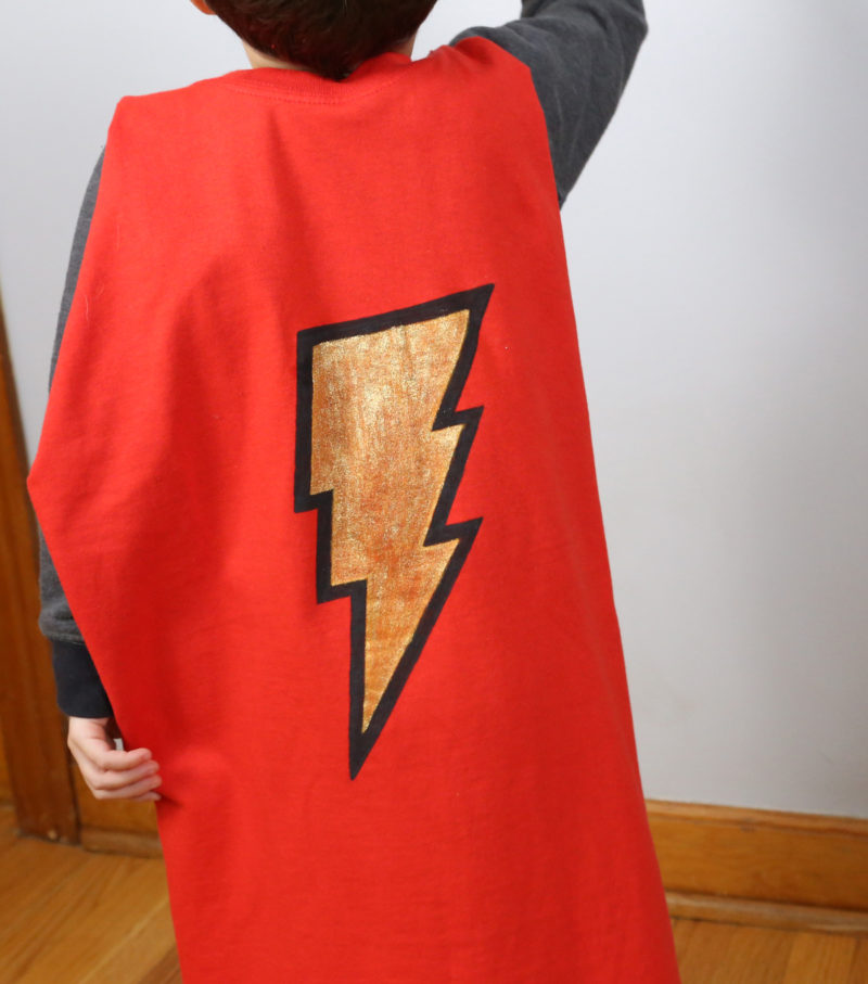 No Sew Super Hero Cape