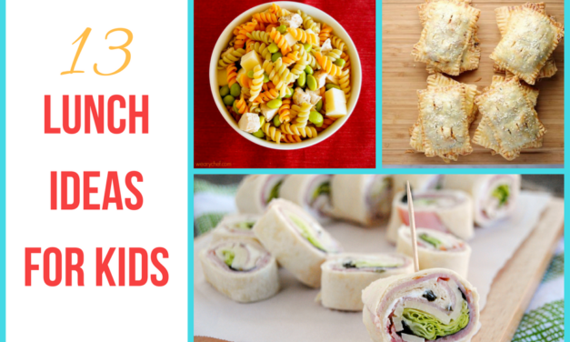13 Lunch Ideas for Kids That Aren't Sandwiches