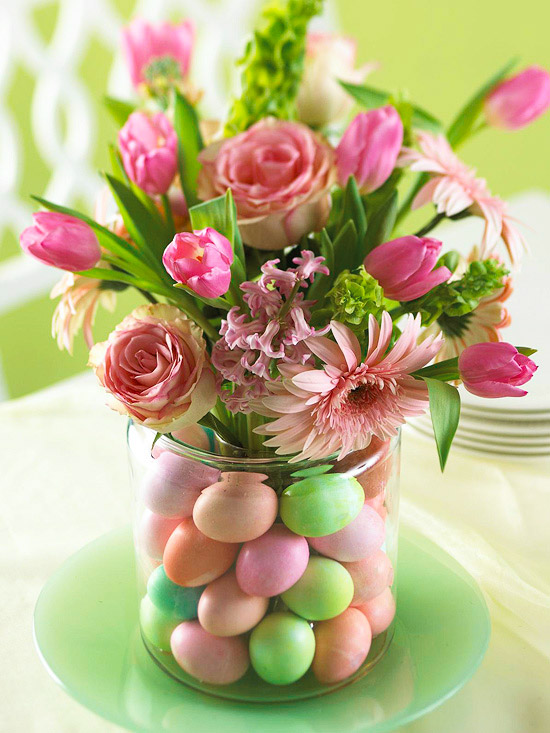 Easy Easter Projects for the Whole Family - Pastel Flower Bouquet