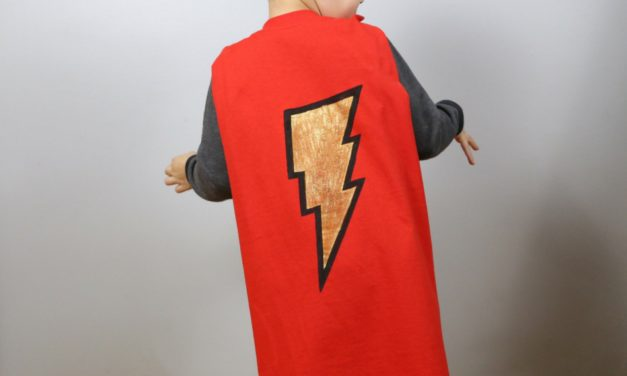 No-Sew Superhero Cape