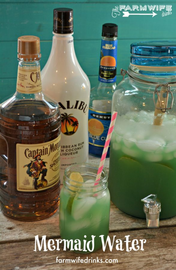 A Dozen Party Punch Recipes - Mermaid Water