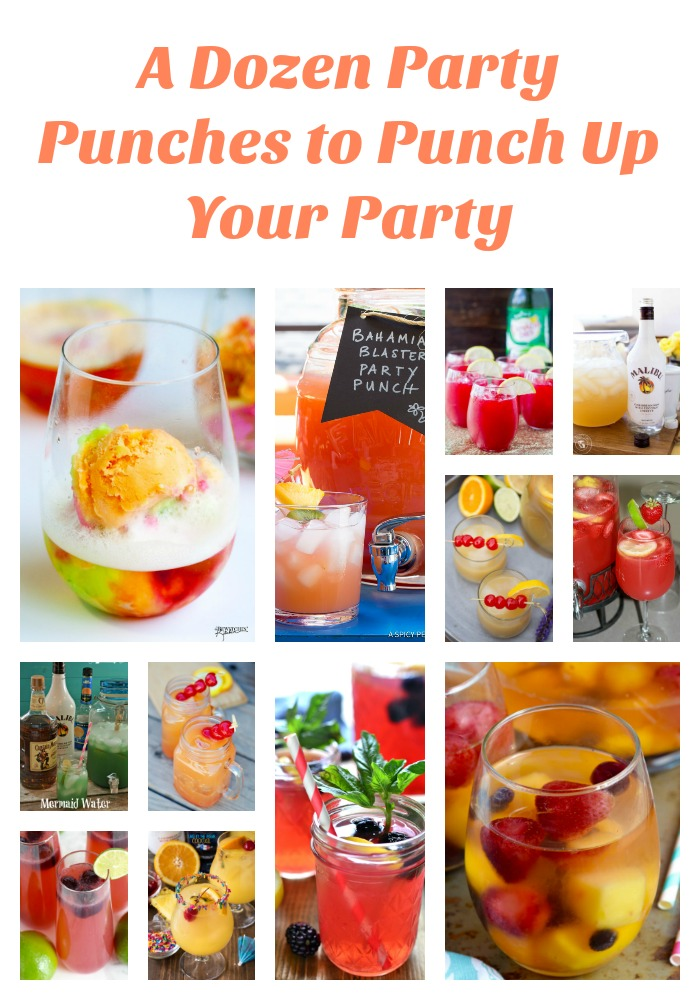 A Dozen Party Punch Recipes