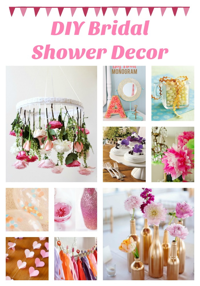 Diy Bridal Shower Decor Do It Make It Love It