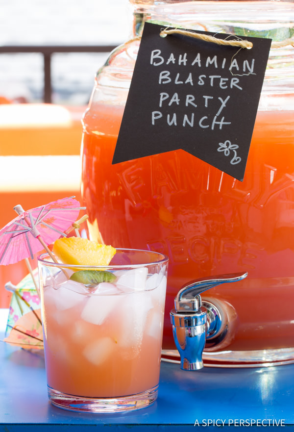 A Dozen Party Punch Recipes - Bahamian Blaster Party Punch