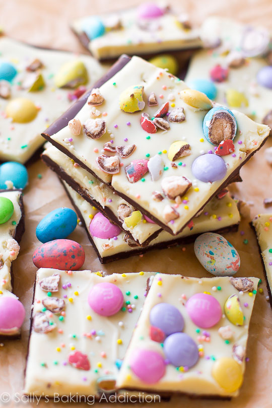 Easy Easter Projects for the Whole Family - Easter Bunny Bark