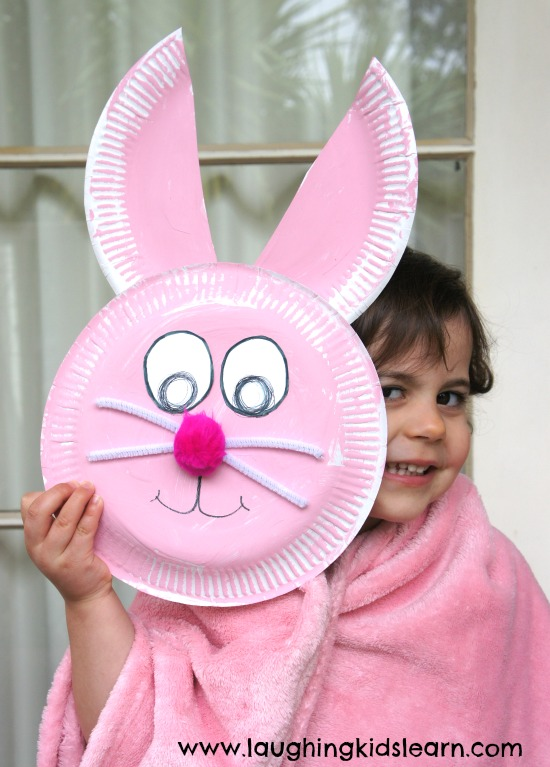 Easy Easter Projects for the Whole Family - Easter Bunny Plate Project