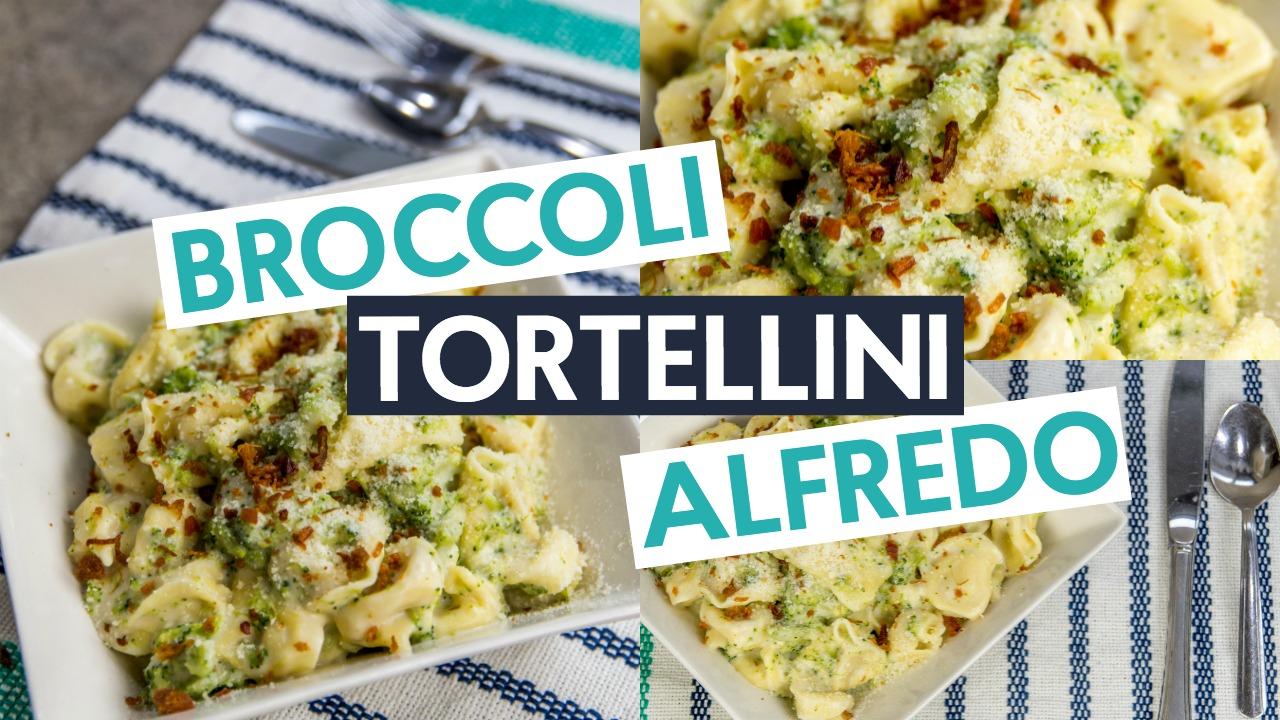 Broccoli Tortellini Alfredo Recipe