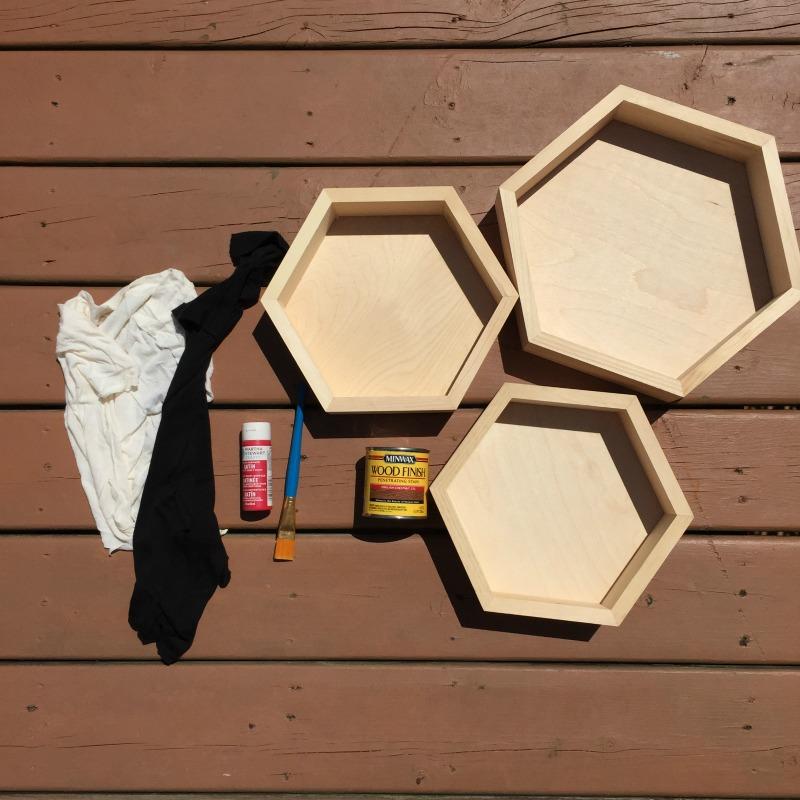 Honeycomb Shelves Tutorial