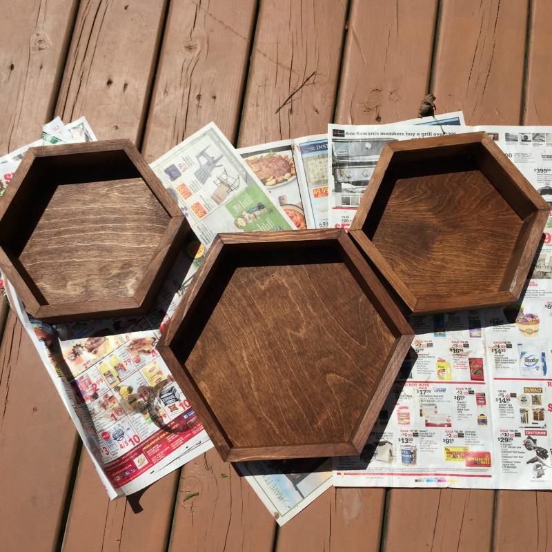 Custom Hexagon Shelves Tutorial