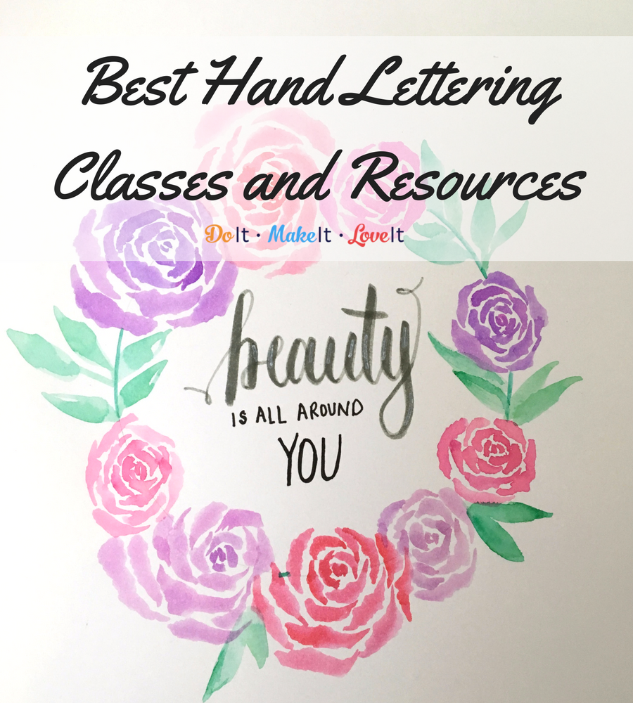 Hand Lettering Resources