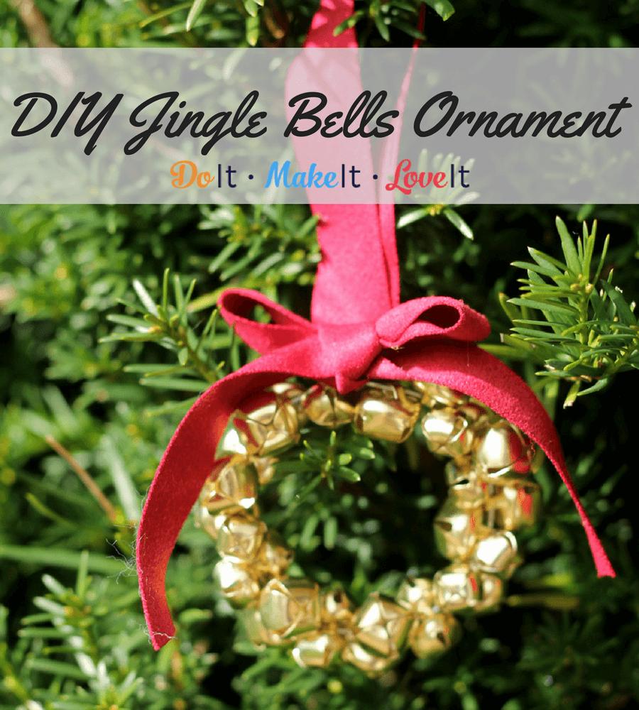 DIY Jingle Bells Ornament