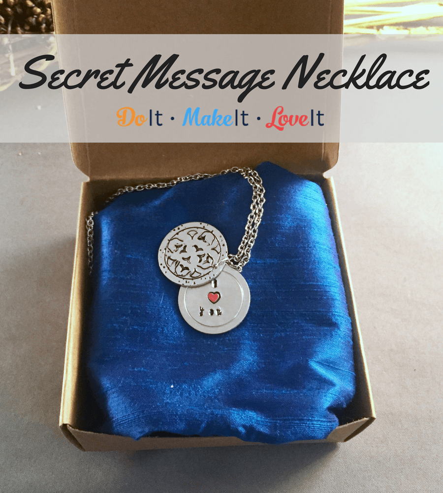 Secret Message Pendant