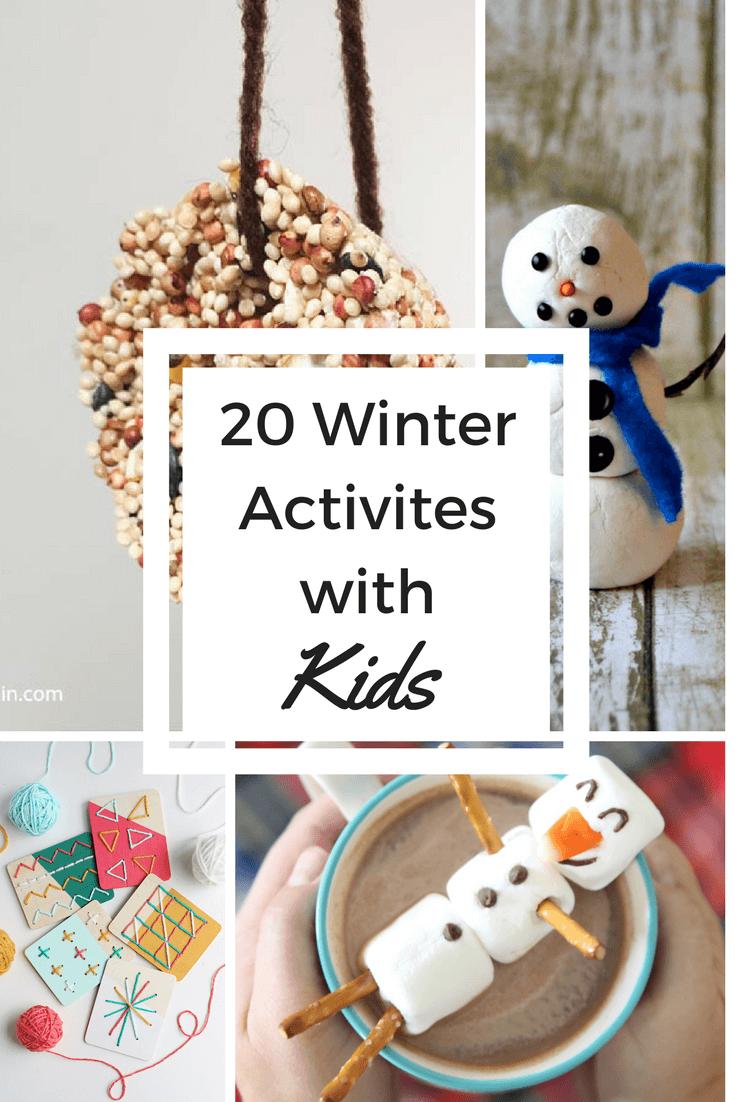 Winter activities with kids