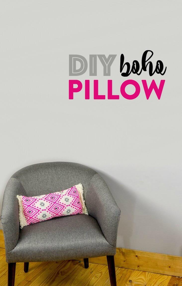 DIY Boho Pillow