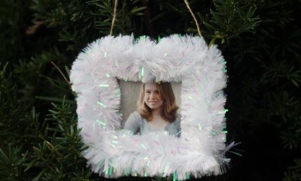 5-Minute DIY Frame Ornament